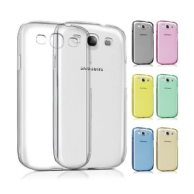 Coque Housse Silicone Couleur Transparent pour Samsung Galaxy S3 Cover UltraFine