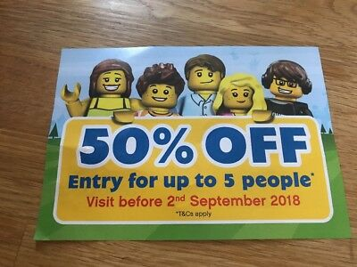 50% OFF A LEGOLAND Day Ticket VOUCHER Save up to £30 at LEGOLAND Windsor Resort