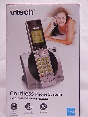 Vtech *cs6919*cordless Phone System With Caller Id /call Waiting
