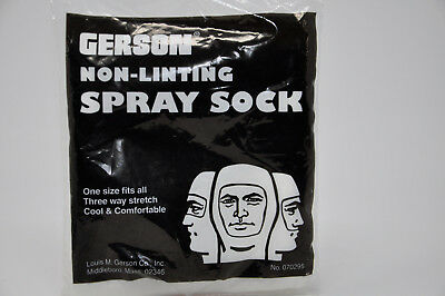 Gerson Non-Linting Spray Sock Model 070295 Set of Two Brand New Socks