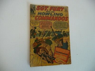 Comic Book Lot-Marvel's Sgt. Fury and His Howling Commandos-First Vol-Huge Lot!