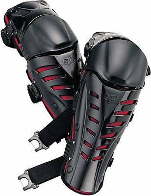 New Fox Raptor Adult Biker Knee/Shin Guards For Off-Road Riding Protection