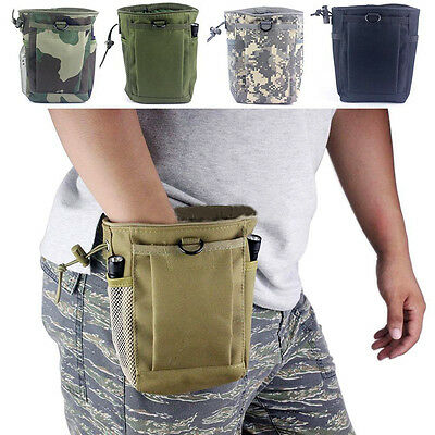 Hunting 25cm x 30cm Military Molle Magazine Dump Drop Reloader Pouch Bag Outdoor Hunting