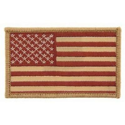Tan & Brown American Flag Patch, Flag Patches, Military Patches, Mc Patches