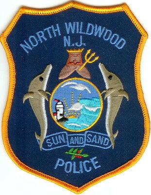 North Wildwood Police NJ New Jersey patch