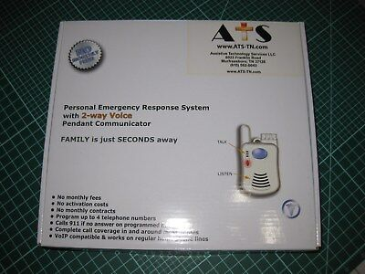 ATSMEDICAL ALERT SYSTEM-Wireless Pendant - No monthly fees- Retails at $279.99