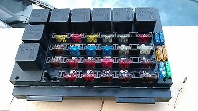 fiat bertone x1/9 x19 late type fuse box and relays