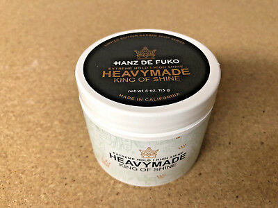 Hanz De Fuko HeavyMade Pomade 4oz - LARGE LIMITED EDITION - Same Day Shipping!