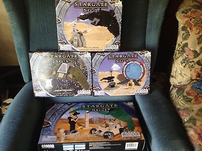 Stargate SG-1 Best-Lock New Boxed Rare Sets Lot