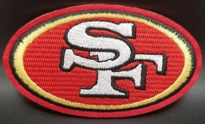 San Francisco 49ers Logo~Embroidered Iron On Patch~Free Shipping from the USA~