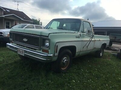 1973 Chevrolet Other Pickups  1973 Chevy 3/4T Camper Special 454