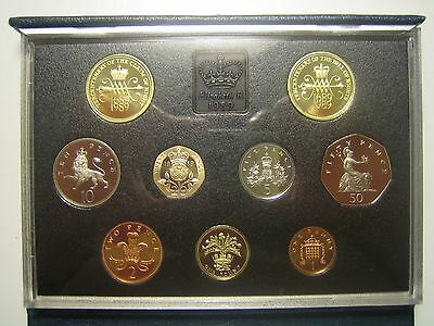 United Kingdom Proof Coin Collection Tercentenary Claim of Right 1989