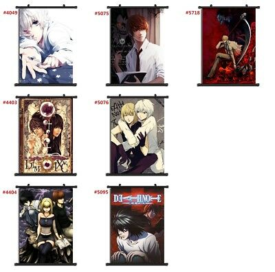 """Anime Death Note manga Wall Scroll Poster cosplay8""""x11"""" C"""