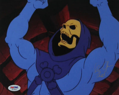 Skeletor He-Man Masters of the Universe Signed by Alan Oppenheimer  8 x 10 PSA