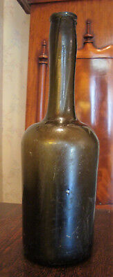 Dutch Antique Constantia Wine Bottle Circa 1725 Pontil Long Neck