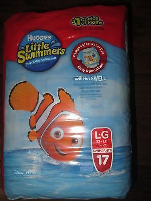 Huggies Little Swimmers Disposable Swimpants, Large, 17 Count  Finding Nemo