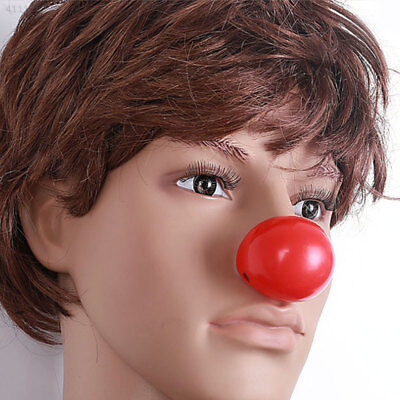 Clown Red Nose Plastic Kids Children Fancy Dress Costume Party Cosplay Funny Toy