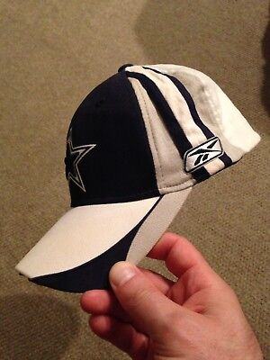 19bc64bd7 Mens Vintage REEBOK Retro NFL DALLAS COWBOYS Fitted Hat One Size Fits All