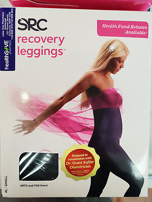 BRAND NEW SRC Recovery LEGGINGS for Post Pregnancy - SMALL
