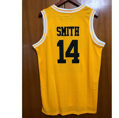 The Fresh Prince Of Bel Air Academy Jersey #14 Will Smith Yellow Stitched