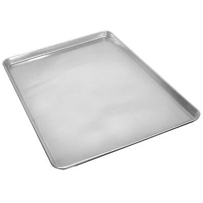 2 Commercial Grade 18 x 26 Full Size Aluminum Sheet Pan for Baking Bread Cookie