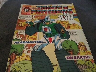 Transformers And Action Force # 156 Comic