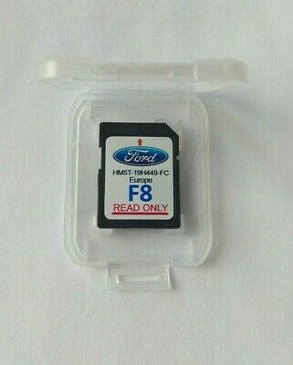 New version 2018!SD CARD EUROPE FORD F7 SYNC2 SAT NAVIGATION HM5T-19H449-FB