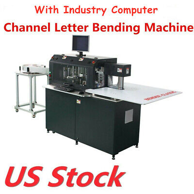 US Stock Multifunction Automatic CNC Channel Letter Bending Machine