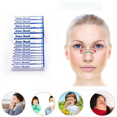 120Pcs Nasal Patches Anti Snoring Nasal Strips Aid Stop Snore Better Breathing