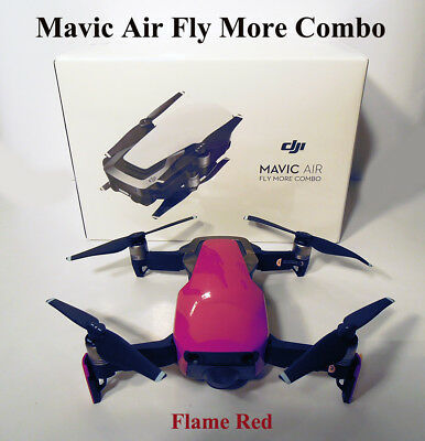 DJI Mavic Air Fly More Combo Flame Red Drone 32 MP Sphere Panoramas