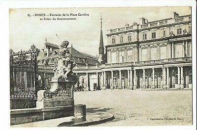 CPA - Carte postale - France - Nancy- Fontaine de la Place Carrière S1801