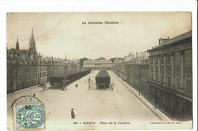 CPA - Carte postale - France - Nancy- Fontaine de la Place Carrière -1904 -S1802