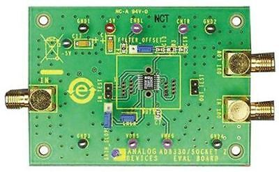 Analog Devices Evaluation Board for HMC547ALC3 for HMC547ALC3 SPDT Control Switc