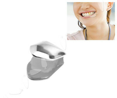 Hip Hop Silver Plated Teeth Single Tooth Grill Grillz Versilbert Zähne Deko