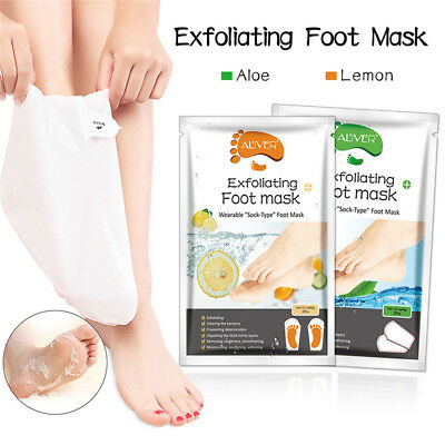 Exfoliating Foot Mask Chaussettes Baby Soft Foot Enlever Peel Off Peau Mate