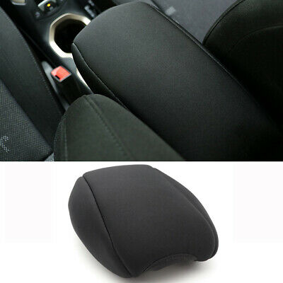 Center Console Armrest Pad Cover Protector Cushion Fit for Jeep Renegade(Black)