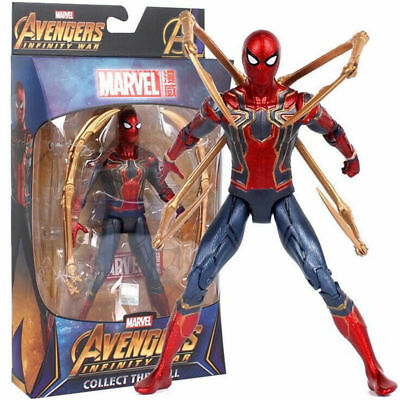 Avengers 3 : Infinity War Marvel Movie PVC Statue Iron Spider-Man 18cm