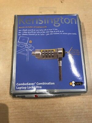 Kensington ComboSaver Combination Laptop Lock Ultra