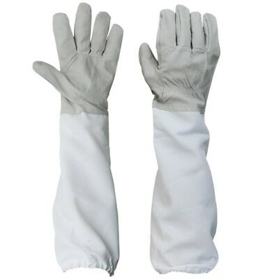 1 Pair of Gloves with Protective Sleeves ventilated Professional Anti Bee for E2