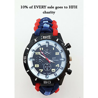 Supporting Our Armed Forces Watch with 10% going to Help For Heroes charity
