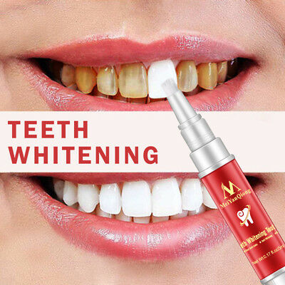 2PCS Teeth Whitning Gel Pen Absolute White Stain Remover Tooth Whitener Delicate