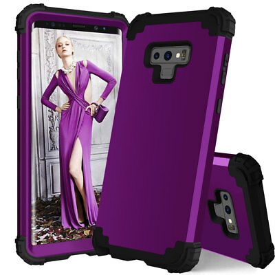 Shockproof Heavy Duty Hybrid Armor Case for Samsung Galaxy Note 9/S9 S8 N8 Cover