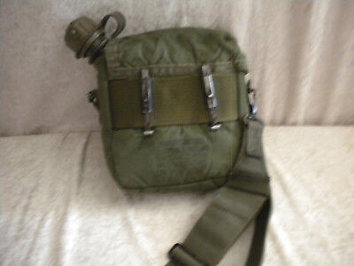 Genuine US Army 2 QT Water Canteen w/ Cover, Wasserflasche m. Huelle compl.