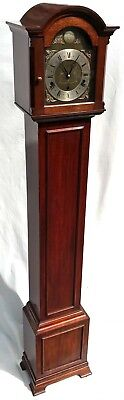 Elliott WESTMINSTER CHIME Mahogany Grandmother Miniature Grandfather Clock Night