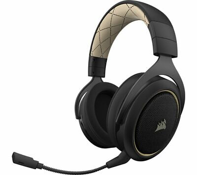 CORSAIR HS70SE Wireless 7.1 Gaming Headset - Black & Gold - Currys