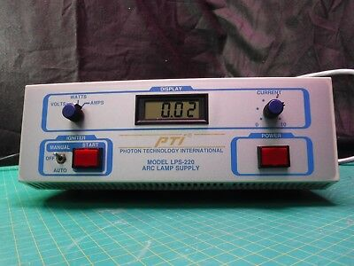 PTI PHOTON TECHNOLOGY INTERNATIONAL LPS-220 150W ARC LAMP POWER SUPPLY used