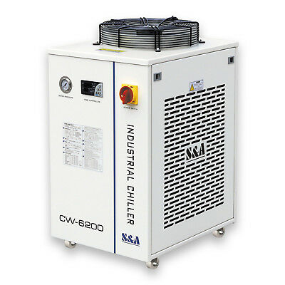CW-6200BN Industrial Water Chiller for 45KW CNC Spindle Cooling 220V 60Hz