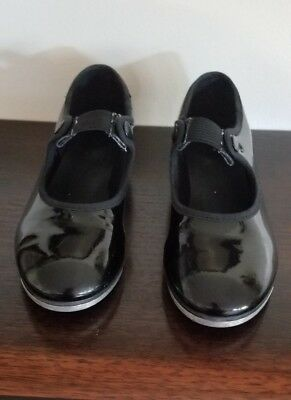 So Dance, Youth, Girls Size 11, Tap Dancing Shoes,  Black