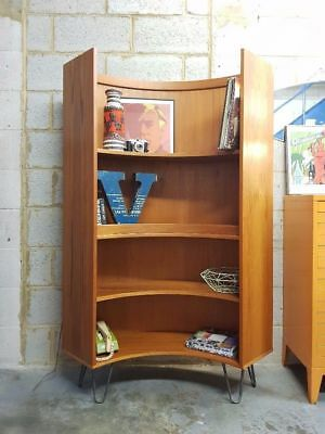 Mid Century Vintage Curved Bookcase by G Plan - Delivery London SE15