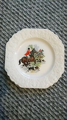 Lord nelson pottery plate ( Fox hunting)